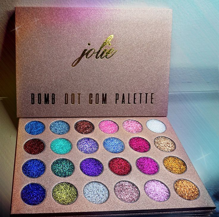 Bomb Dot Com 24 Shade Glitter Palette in 2020 Makeup