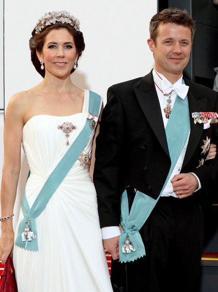 The Danish Royal Family Celebrates Queen Margrethe II's 70th birthday.    Princess Mary and Prince Frederik