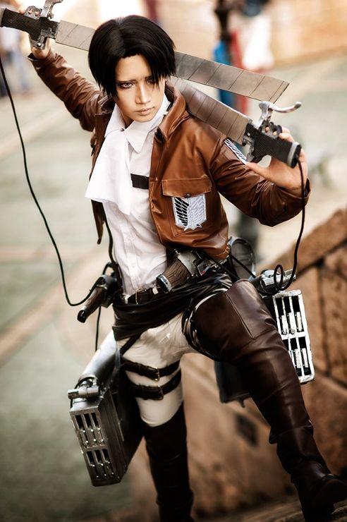 Levi (Attack on Titan) by REIKA - WorldCosplay