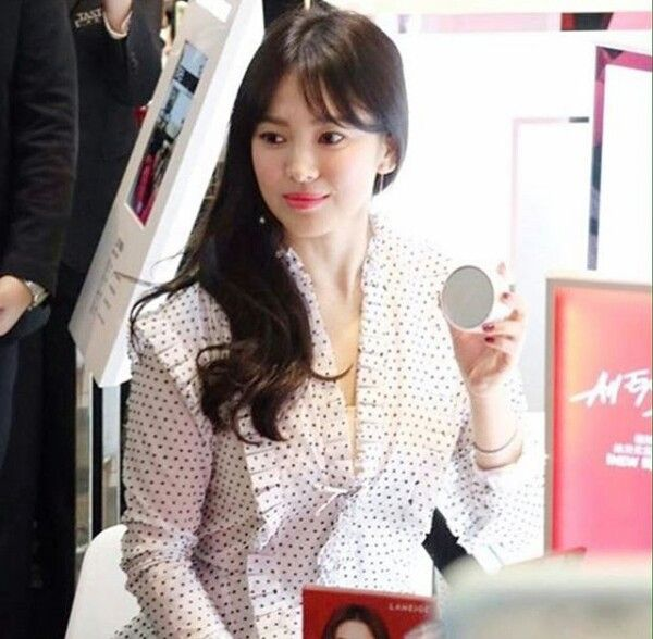 song hye kyo 송혜교 宋惠敎 LANEIGE event taiwan february 2017 ...