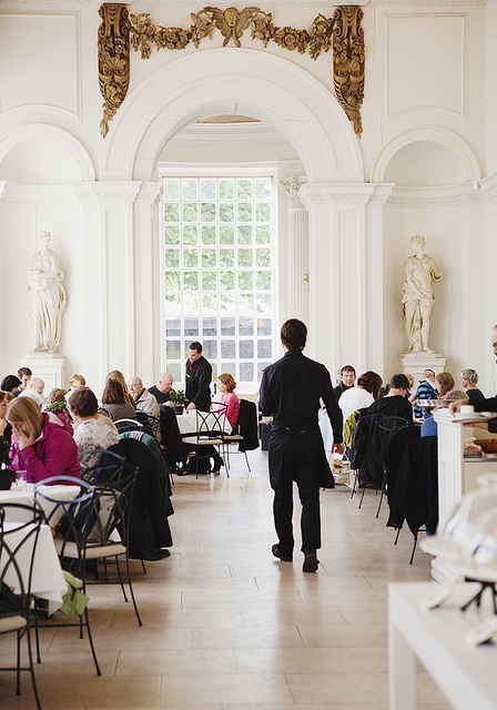 The Orangery at Kensington Palace- great place for lunch or afternoon tea in London.