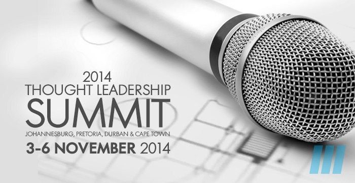 FutureSpaces - 2014 Thought Leadership Summit 3 - 6 November, focusing on Healthcare