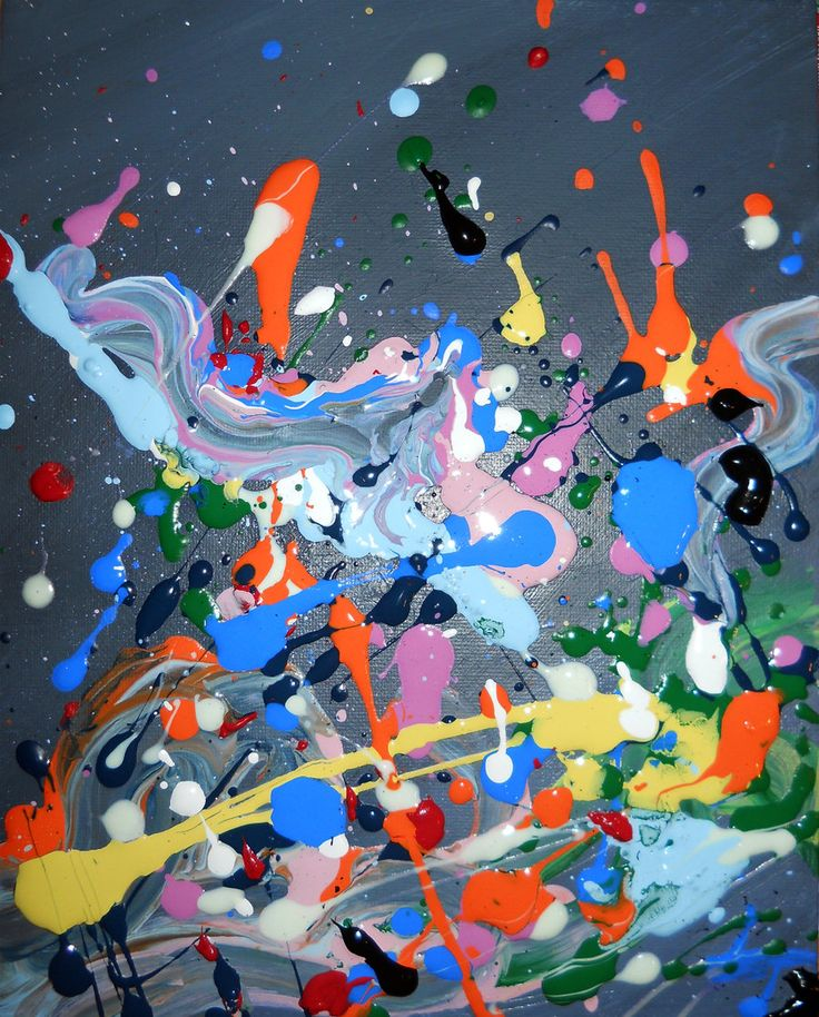 """Pollock - A great Example for this Art Call: """"Pure Abstraction"""" Art-Competition.net: Announces a call to artists for an Abstract Group Exhibition consisting of 10 artists. Submission Deadline: 09/15/2014 - www.art-competition.net"""