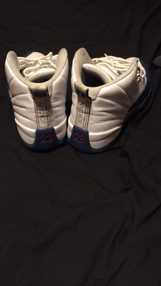 best authentic 640ac 2335d Jordan 12 French Blue Size 10.5 Been Worn A Few Times Comes With Box   fashion