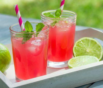 Domácí malinovka a další recepty na osvěžující limonády