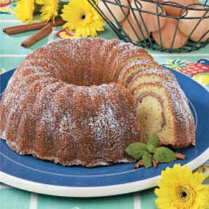 Cinnamon-Swirl Coffee Ring: Bundt Cakes, Coff Cakes, Cinnamon Swirls Coffee Rings, Breads Breakfast, Compound Recipes, Rings Recipes, Favorite Recipes, Coffee Rings Mad, Coff Rings