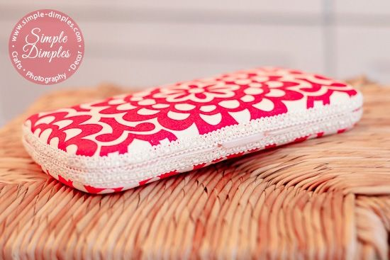DIY fabric wet wipe case tutorial