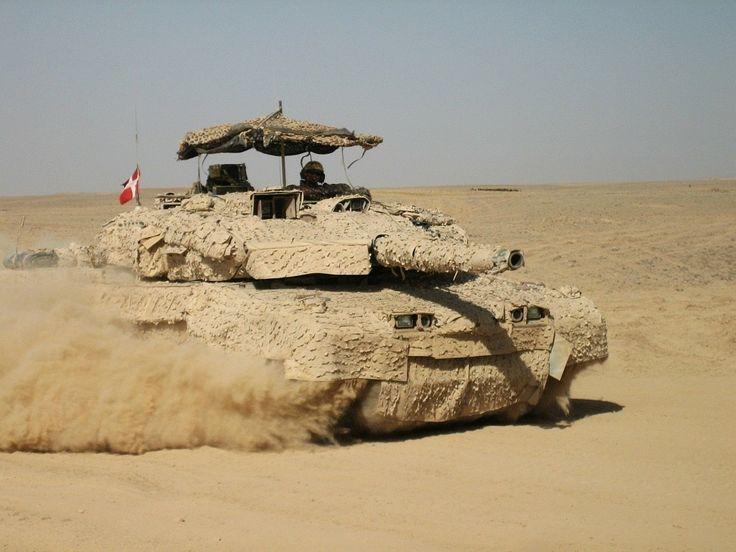 Danish Army Leopard 2 A5 Main Battle Tank in Helmand Province, Afghanistan