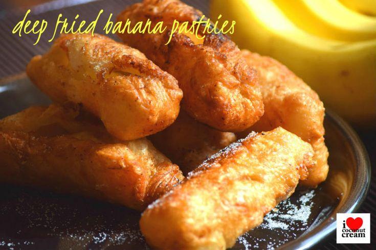 Deep Fried Banana Pastries