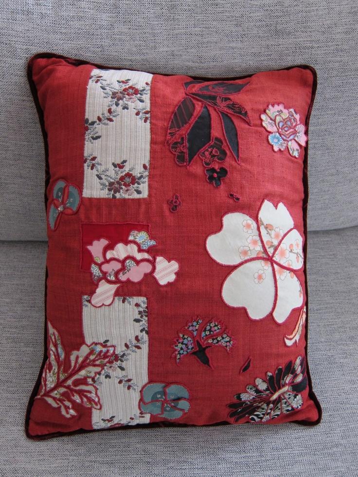 Embroidered Cushion   http://whiterhino.felt.co.nz