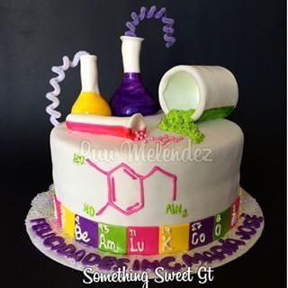 chemistry cake - Google Search