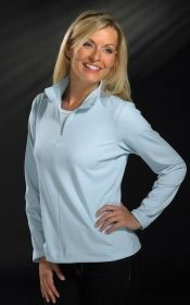 Promotional Products Ideas That Work: LADIES' NIKE SPHERE 1/2 ZIP. Get yours at www.luscangroup.com