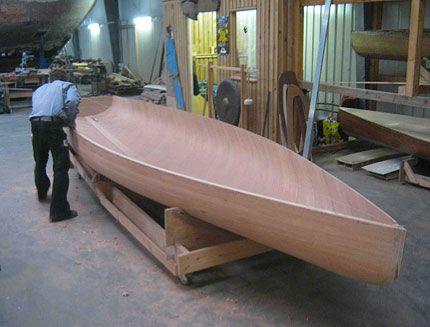 Bootswerft für klassische Rennjollen