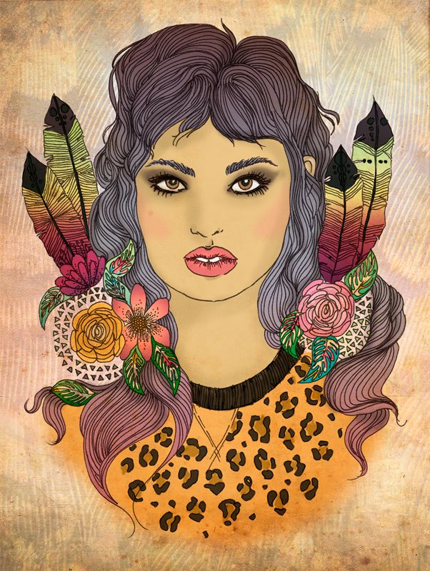 Chica indie. Indie girl. Si te interesa la ilustración podes escribirme a sol.dlvega@gmail.com. If you like the illustration, please send me an email sol.dlvega@gmail.com