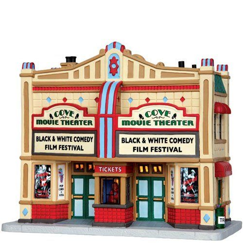 Lemax Village Collection Cove Movie Theater # 45682 Lemax Villages…