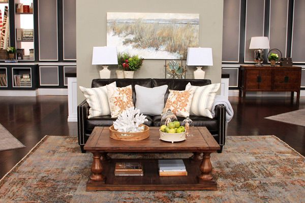 modern nautical living room - Google Search