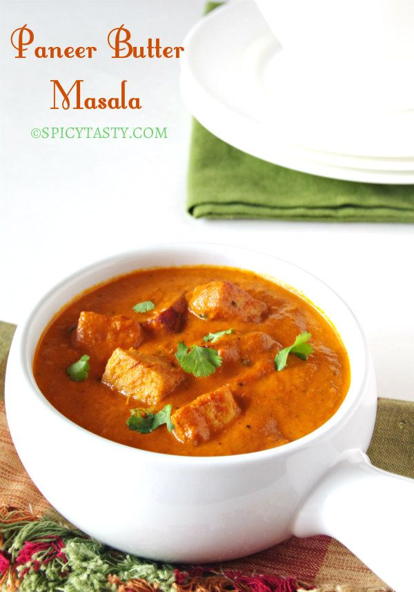 Butter Paneer Masala | Spicy Tasty