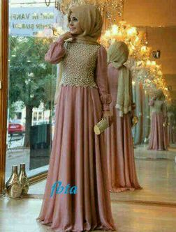 Narsa Dress salem @116rb  jersey mix brukat (brukat tidak sama dgn pic ya =not ORI) all size fit L