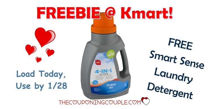 It's the KMART FRIDAY FIX! Get an ecoupon for FREE Smart Sense Laundry Detergent! Get the ecoupon now!  Click the link below to get all of the details ► http://www.thecouponingcouple.com/kmart-friday-fix/ #Coupons #Couponing #CouponCommunity  Visit us at http://www.thecouponingcouple.com for more great posts!