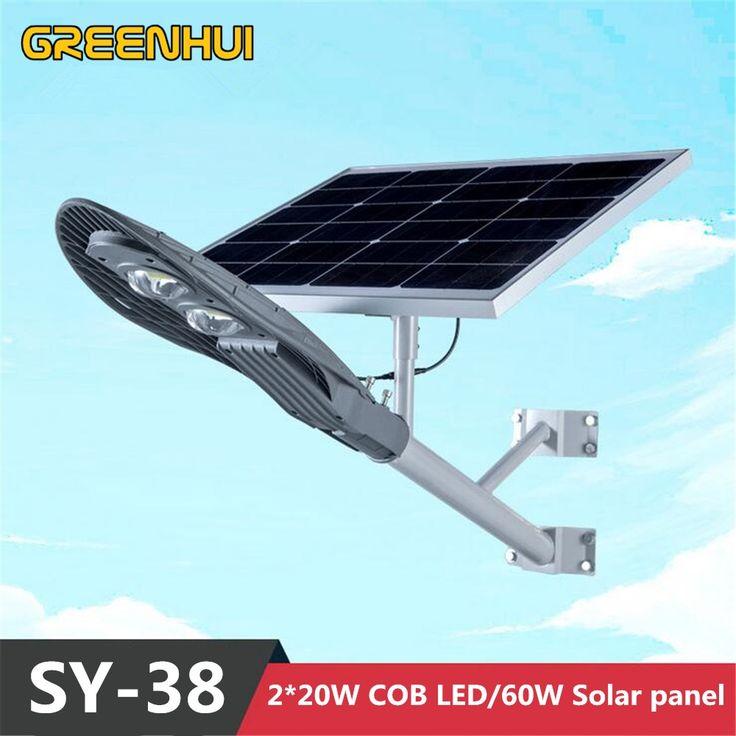 Street Light With Solar Panel: 1000+ Ideas About Solar Street Light On Pinterest