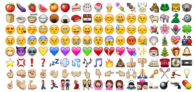 If you don't use emoji-icons on your iPhone than you better start . . . ha ha
