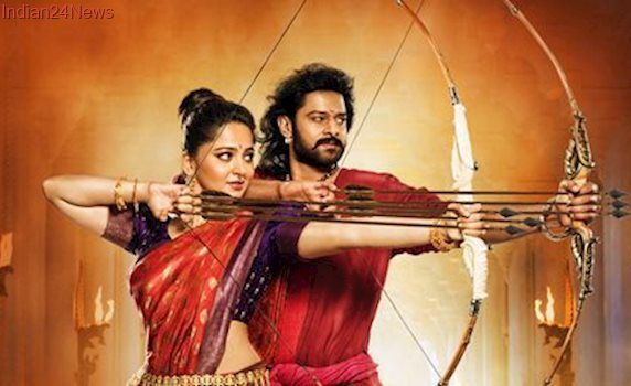 Baahubali 2 new poster: Behold the mighty Baahubali Sr and the beautiful Devasena, see pic