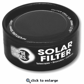 Solar Filter 70mm Black Polymer for Galieoscope