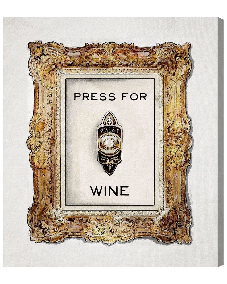 Spotted this Press For Wine Canvas Art by The Oliver Gal Artist Co. on Rue La La. Shop (quickly!).