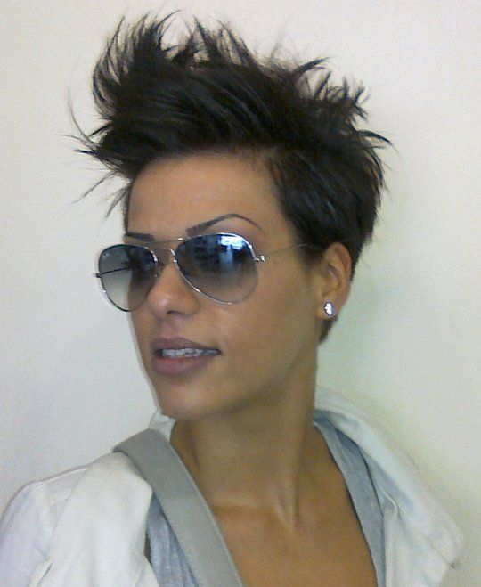 Strange 1000 Ideas About Short Spiky Hairstyles On Pinterest Hairstyles Short Hairstyles Gunalazisus