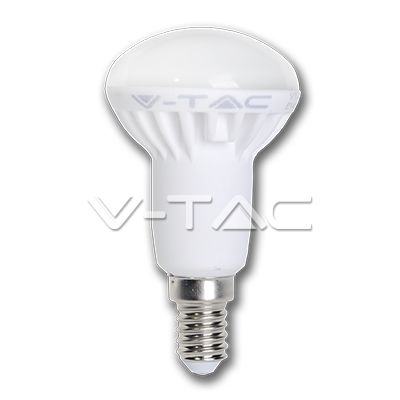 3,32€ Lampadina LED 6W E14 R50 Bianco caldo  SKU: 4243 | VT: VT-1876    Lampadina LED 6W E14 R50 Bianco freddo  SKU: 4246 | VT: VT-1876