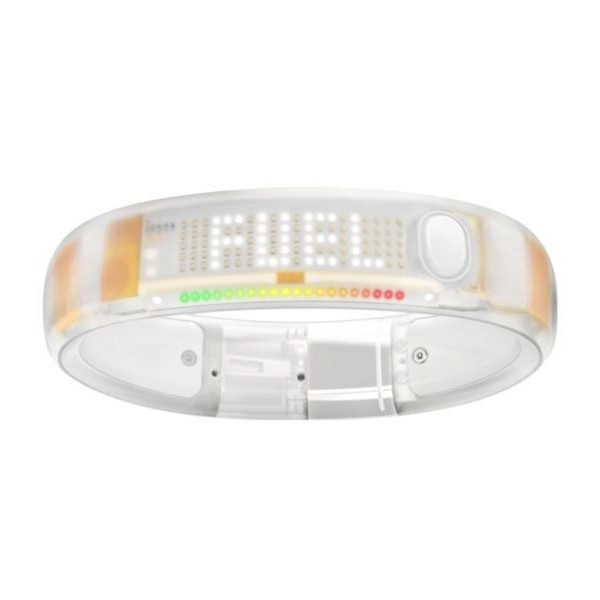 (NEW) Nike Fuelband White Ice S Small Digital Nike+/Watch/Fitness/Fuel... ❤ liked on Polyvore