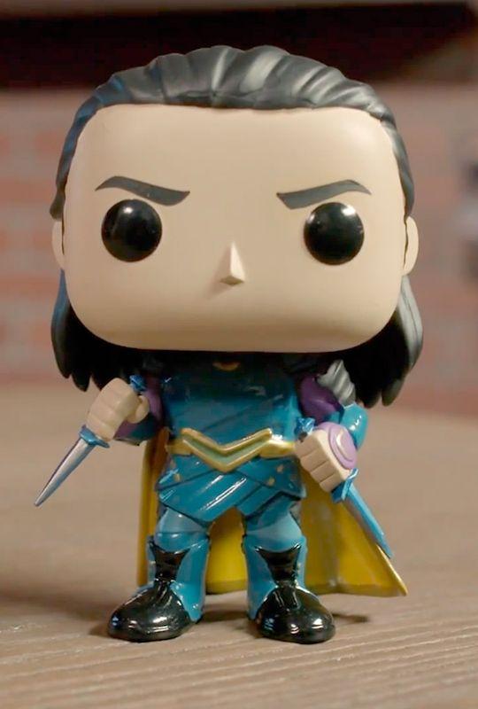 Loki (Thor: Ragnarok) Pop Vinyl Pop Marvel!!! ♥ Via Torrilla: https://m.weibo.cn/status/4123421107043746
