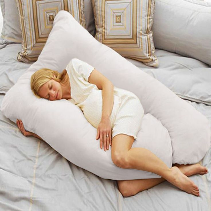 U Shape Total Body Pillow Pregnancy Maternity Comfort Support Cushion Sleep  31.95