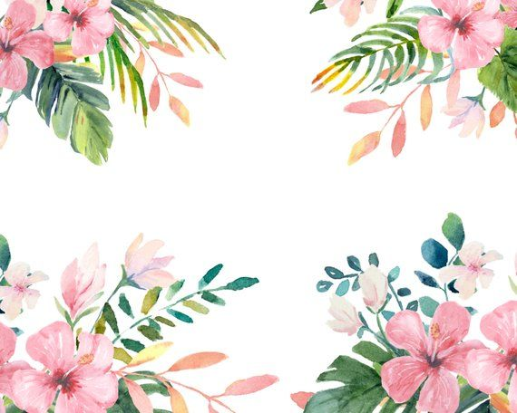 Tropical Watercolor Clip Art Watercolor Tropical Leaves Etsy Watercolor Clipart Tropical Leaves Watercolor Art The best selection of royalty free tropical leaves flowers vector art, graphics and stock illustrations. tropical watercolor clip art watercolor