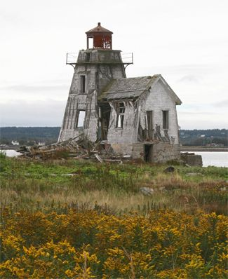 Grand Harbour Lighthouse Ross Inland, NB