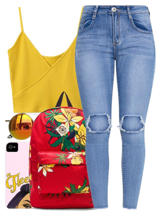 """""""The Weekend"""" by yasmeen4740 ❤ liked on Polyvore featuring Chicnova Fashion and OBEY Clothing"""