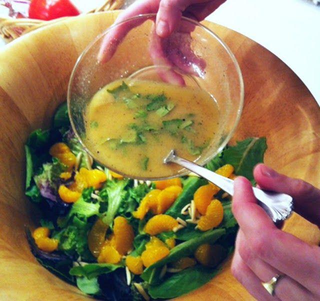 Vinagrete de laranja, manjericão e mostarda tem mais sabor e saúde | Cura pela Natureza.com.br