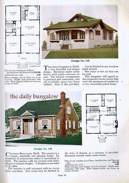 158 best old homes images on pinterest vintage house plans house plans blueprints home 2 malvernweather Images