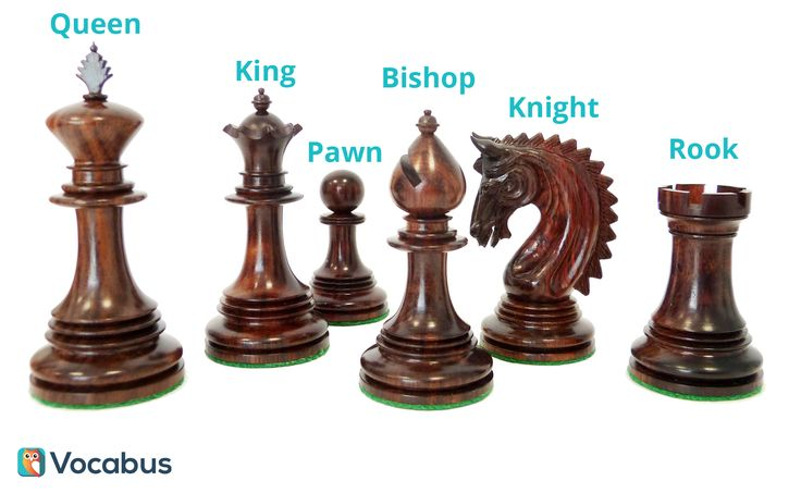 Naucz się angielskich nazw figur szachowych. Szachy po angielsku