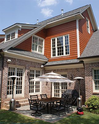 1000 images about siding color options for red brick for Nichiha siding colors