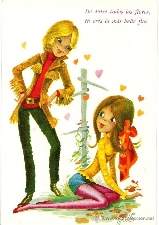 Interesante postal: Pareja de novios. Editada en el año 1973. C. y Z. nº…
