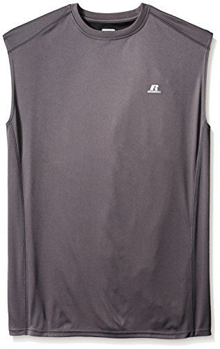 Russell athletic men 39 s big tall color blocked muscle shirt for Big and tall athletic shirts