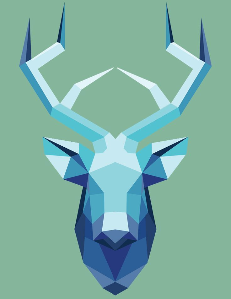 geometric ART on Pinterest | Geometric Animal, Low Poly and ...