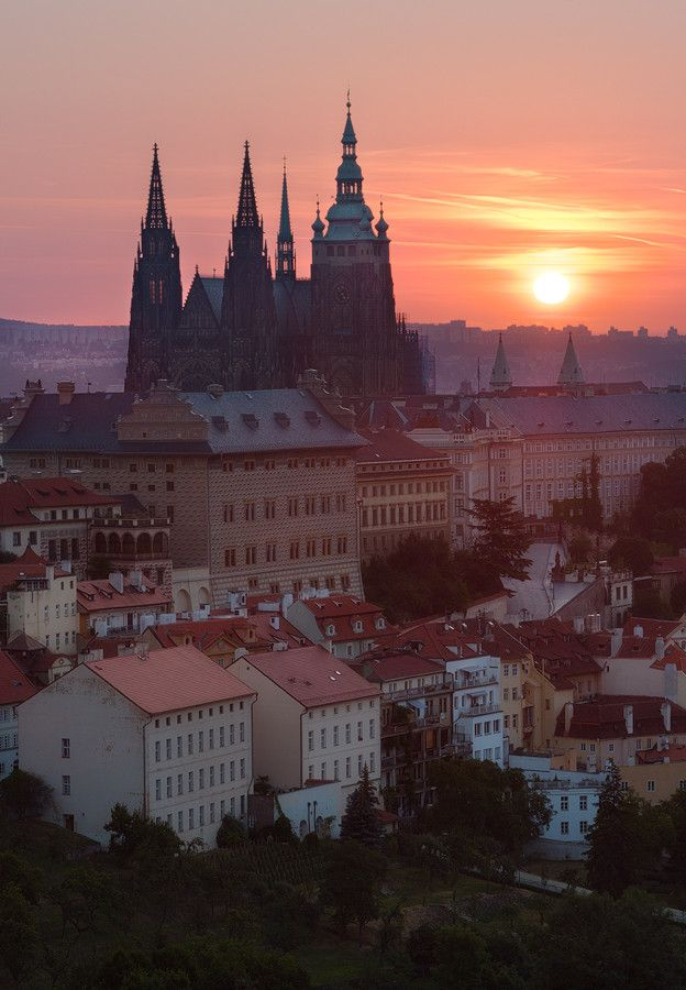 Prague Castle by Michal Vitásek on 500px