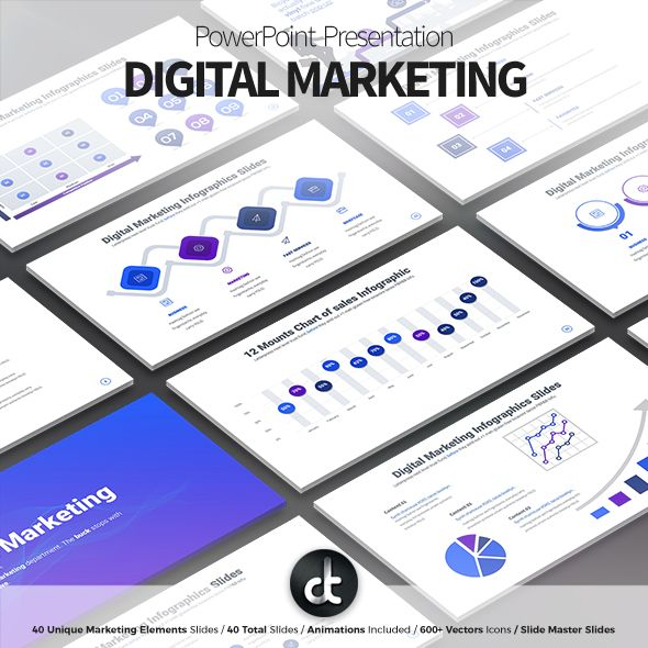 Digital Marketing - PowerPoint Presentation Template