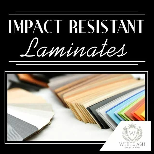 Scratch and Stain resistant laminates protect your furniture from looking soiled and old.  #WhiteAsh