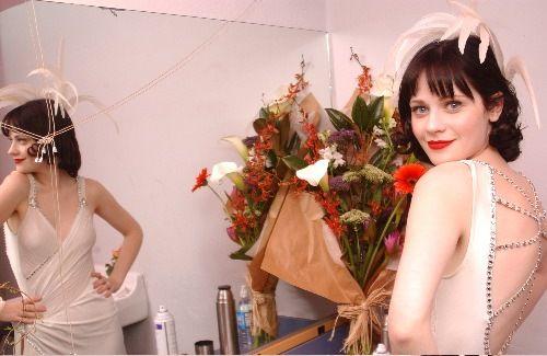 17 best images about zooey deschanel style on pinterest for Zooey deschanel wedding dress