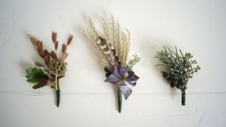 Herfstcorsages
