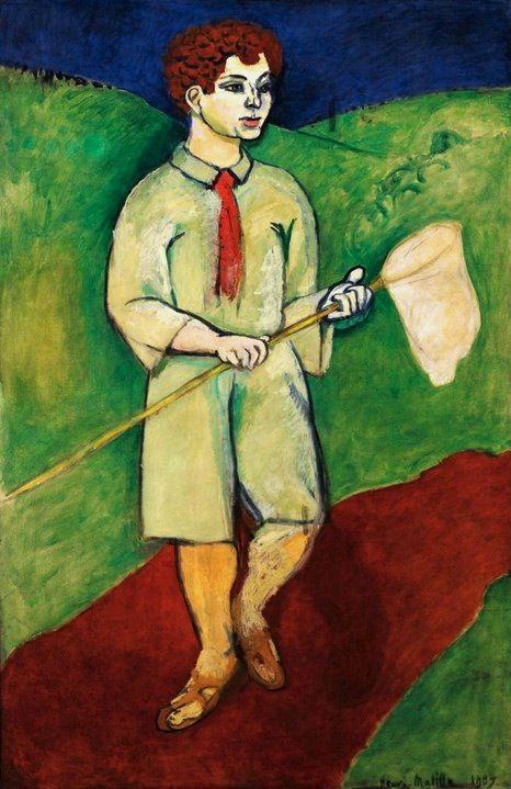 Henri Matisse - Boy with Butterfly Net (1907)