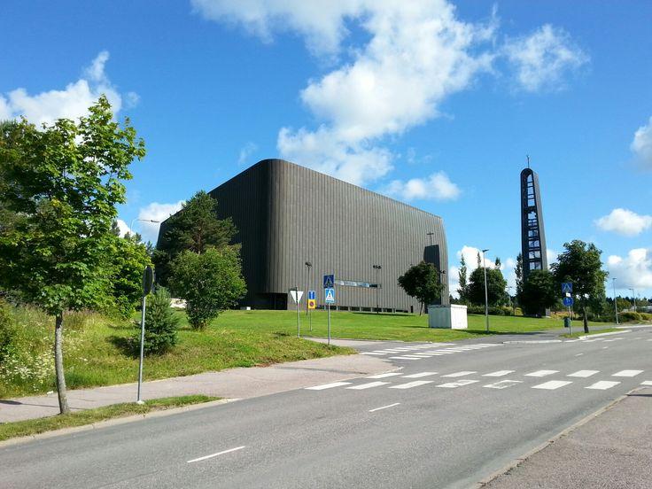 July 22 , 2017 . The Church in Klaukkala  . NURMIJÄRVI  . FINLAND  .